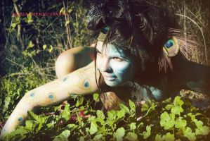 wild bodypainting by pinta85