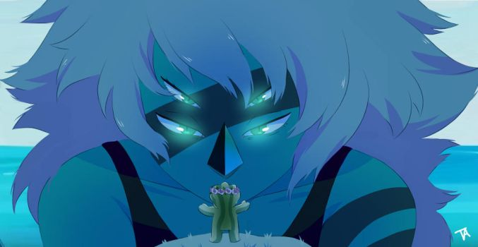 Steven Universe Screencap redraw by Unevenminded
