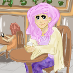 Hipster Fluttershy by VanessaCake