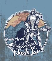 brotherhood of steel needs you by breathing2004