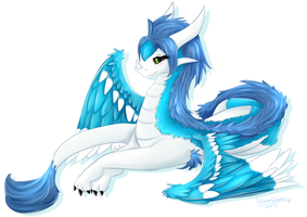 Min as a dragon by WaterGleam