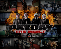 PAYDAY: the heist wallpaper by KuzmichForever