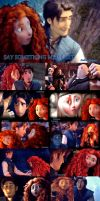 Merida and Eugene (Say Something Mep Part Manips) by AudreySpektor