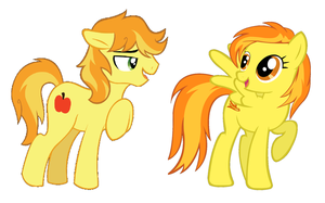 How they met Braeburn and Spitfire by 3D4D
