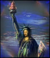 Mona Liberty by Godino