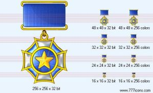 Medal Icon by military-icons