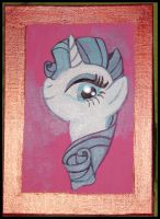 Rarity Acrylic Painting by Starlite-Synth