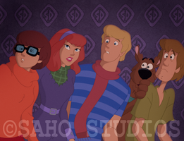 Mystery Inc. by sahostudios