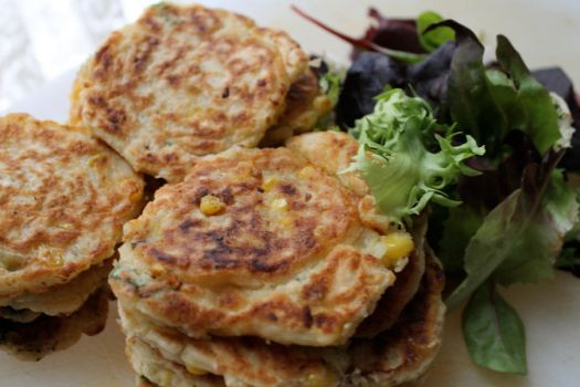 corn fritters by starpersona