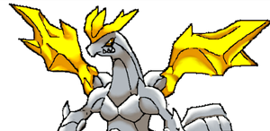 Original Unova Dragon: Kyurem King Forme by GeekachuArt