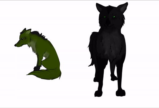 Xiang Xin Anime Wolf Series (ANIMATION TEST) by MeaWolfenX