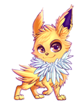 Jolteon by Cosmic-Angell