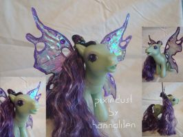 Custom fairy pony - Pixiedust by hannaliten