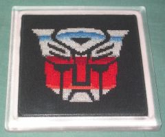 Autobot Trivet - Complete by crafty-manx