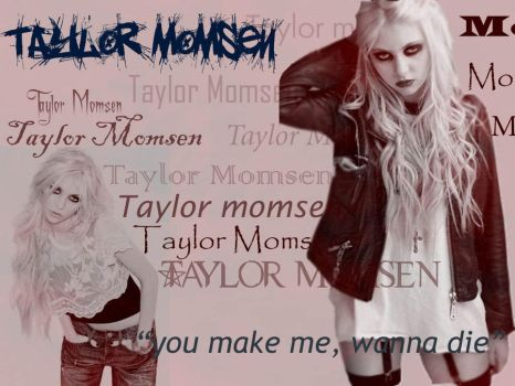 Taylor Momsen wallpaper by isaacngym