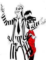 Beetlejuice by elfranco
