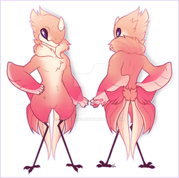 Athena Mini Ref [Personal Art] by VexVyrus