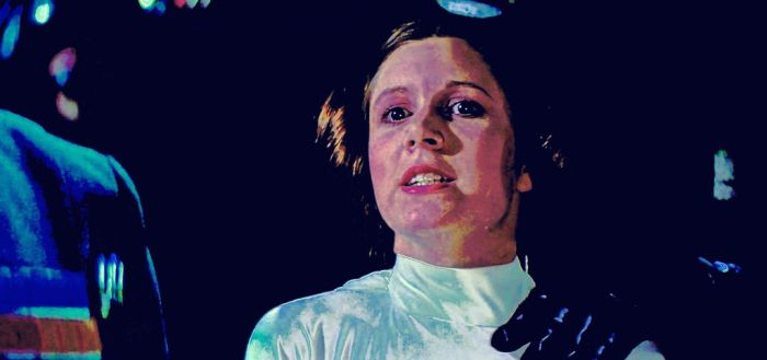 Carrie Fisher  is  Princess Leia Organa by ColonelFlagg
