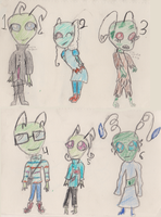 FREE Irken Adoptables CLOSED by pungender