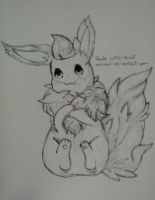 Flareon - Fanart by nonmagicalboy
