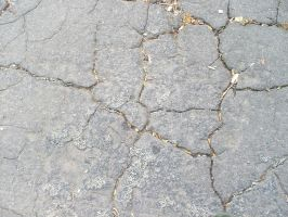 Texture-cracked pavement. by Trippy-CS