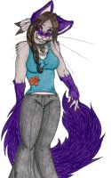+Purple is purrfect+ by angelwolf