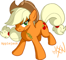 HYLD 6 - Applejack by kevinxnelms