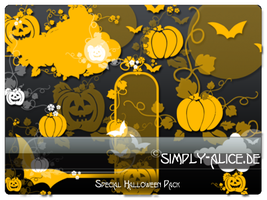 Halloween Brush Pack Part1 by crazy-alice