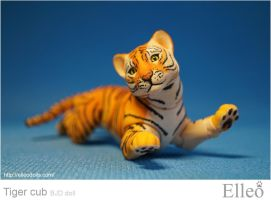 Tiger-cub 07 by leo3dmodels