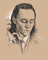 Loki, being a total badass by HashtagGenius