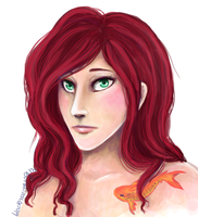 giselle portrait by blackmustang13