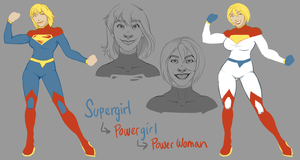Yet Another Supergirl Redesign by Jack-Stark