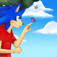 .:Happiness is a Butterfly:. by SonicWind-01