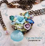 Call Me Pretty Necklace by littleorangetree