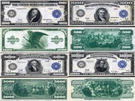 Federal Reserve Notes or Money by icu8124me