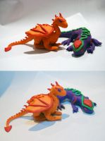 Little Plasticine Creatures by Metallicar-67