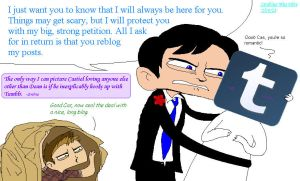 Only Destiel Makes Sense by Strabius