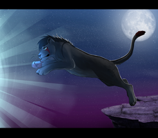 B-Day Gift - Jumping into a new world by Reneah