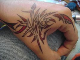 hand tattoo 4 by gedash