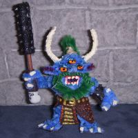 Oni Mini IV with Kanabo by the-gil-monster
