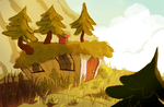 Mountain home by starsweep