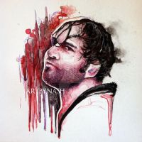 Ambrose - Watercolor. by Artbynash