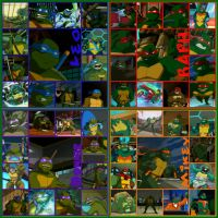 TMNT:: Bro: collage: 2003 by Culinary-Alchemist