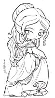 Disney Beauty And The Beast - Belle by TifaYuy
