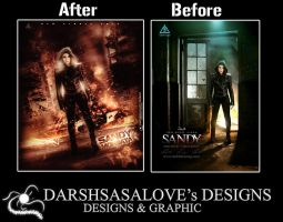 Sandy Before and After by DARSHSASALOVE
