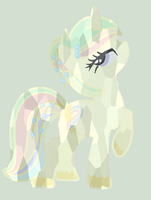 Pastel Wish Crystal Pony by saramanda101