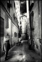 Zaragoza's old town by gerbenher