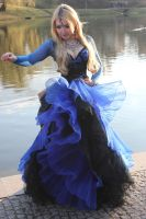STOCK - Blue Gothic by Apsara-Stock