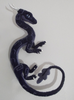 Needle felted oriental dragon ~ Zephyr by tallydragon