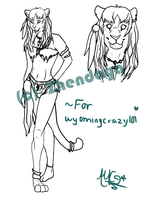 :PC: Tigress ref. sheet *WIP* by thatdumbhorse